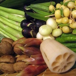 全国からその時々の旬野菜を毎日仕入れます