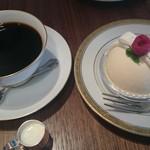 丸福珈琲店 - ケーキセット