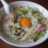 食楽 大盛 - 料理写真:ちゃんぽん(卵入り)@750