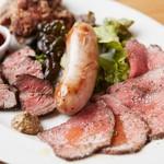 食堂カフェ potto - pottoの肉盛りブッチャープレート
