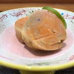 日本料理 旬菜和田 - 蒸したての鮟鱇の肝
