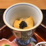 日本料理 旬菜和田 - キャビア、海胆、ぼたん海老