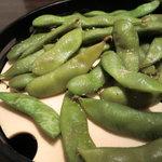 個室 魚と黒豚 まん - 枝豆