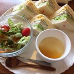 ハートレイ - 料理写真:サンドウィッチランチ(930円)