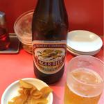 一龍 - 瓶ビール 600円