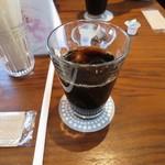 カフェ オン ザ ルーフ - アイスコーヒー¥400