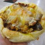 パンジャ - カレーとチーズとナスのフォカッチャ