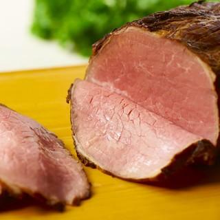 ローストビーフ食べ放題つき宴会コース