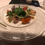 La Blanche - 複数の鯛のサラダ仕立て
