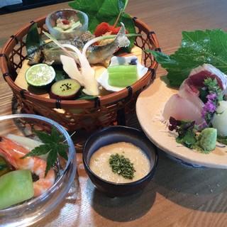 京都・美山荘の感性を取り入れた五感に新しい京料理