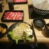 しゃぶしゃぶ太郎 - 料理写真:牛しゃぶコース
