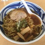 らーめん ひなた - 「正油ラーメン」864円 (東武百貨店池袋店「食の大北海道展」)
