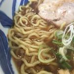 らーめん ひなた - 麺 (東武百貨店池袋店「食の大北海道展」)