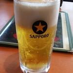 ねぎ焼 とみ神 - ビール