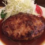 三福亭 - ハンバーグ(230g)(アップ)