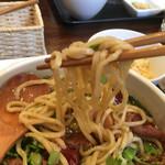 郷村居 - もちもちの麺です
