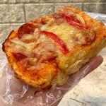 66368172 - パン屋さんのピザトースト