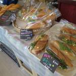 サンローラン - サンドイッチ類が豊富。