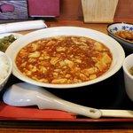 四川創作料理 凜 - 麻婆豆腐(ランチ)