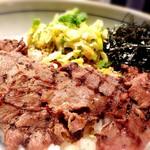 牛たん焼き 仙台 辺見 - ネギ塩牛タン丼