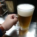 66370503 - 生ビール大!!いい重さ