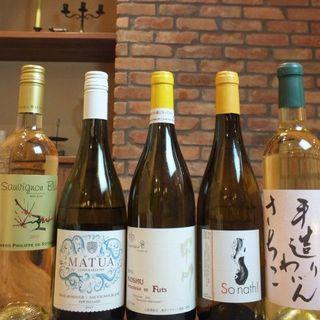 ワインを楽しんで!グラスワイン390円より♪全12種以上!