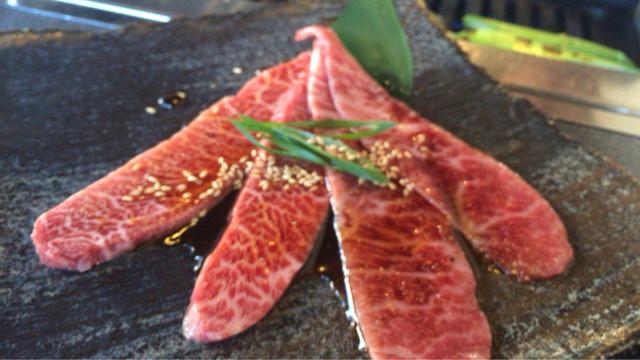 牛膳の料理の写真