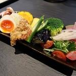 鶏soba 座銀  - 贅沢