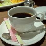 心斎橋ミツヤ - セットドリンクのホットコーヒー