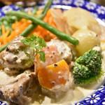 ルーエプラッツ ツオップ - 若鶏のマスタードソース