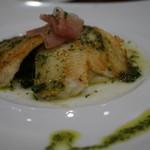 ベーカリーレストランサンマルク - 白身魚のポワレバジルバターソース