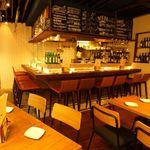 テンプラ ワバル - テーブル&カウンター