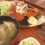 カフェ コメコ - 鶏の米粉揚げ