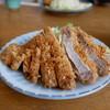 とんかつ屋九兵衛 - 料理写真:特大ロースかつ定食