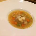 イル メルカート アンジェロ - パスタセットの本日のスープ