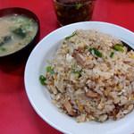 中華つけ麺大王 - 料理写真:チャーハン(750円)