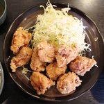 一番どり - テンカラ定食(中)700円