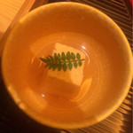 びわね - 先附  鯛の子豆腐