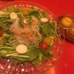 びわね - 水菜サラダ