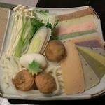 町屋 清水庵 - 12種類の餅しゃぶ