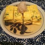 生姜屋 黒兵衛 - 九条ネギのダシ巻き卵