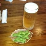 にっぽんの洋食 江戸一 - 2017/04/26 11:40訪問 生ビール