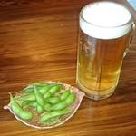 にっぽんの洋食 江戸一 - 2017/04/03 11:20訪問 生ビール