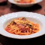 ラ・ルッチョラ - 近江牛テール肉のトマトラグー スパゲッティ