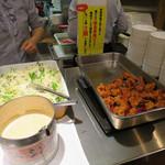 陳家私菜 - ランチ、鶏唐揚げも2個まで無料サービス