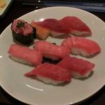 ランドマーク - まぐろ握り寿司