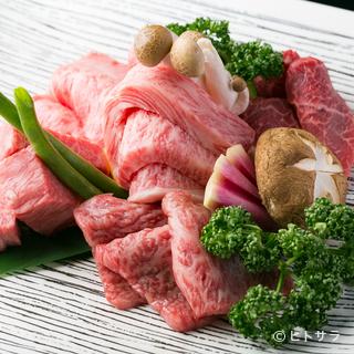 自社牧場を持つ仕入れ先から新鮮な牛肉を仕入れて提供