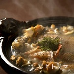 お料理 七草 - 鼻先をくすぐる海の薫り『きんきん苺煮鍋』