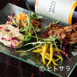 マスオメノス - 季節の食材でつくる『酒好き前菜セット』