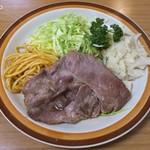ミツワグリル - (豚)焼肉650円